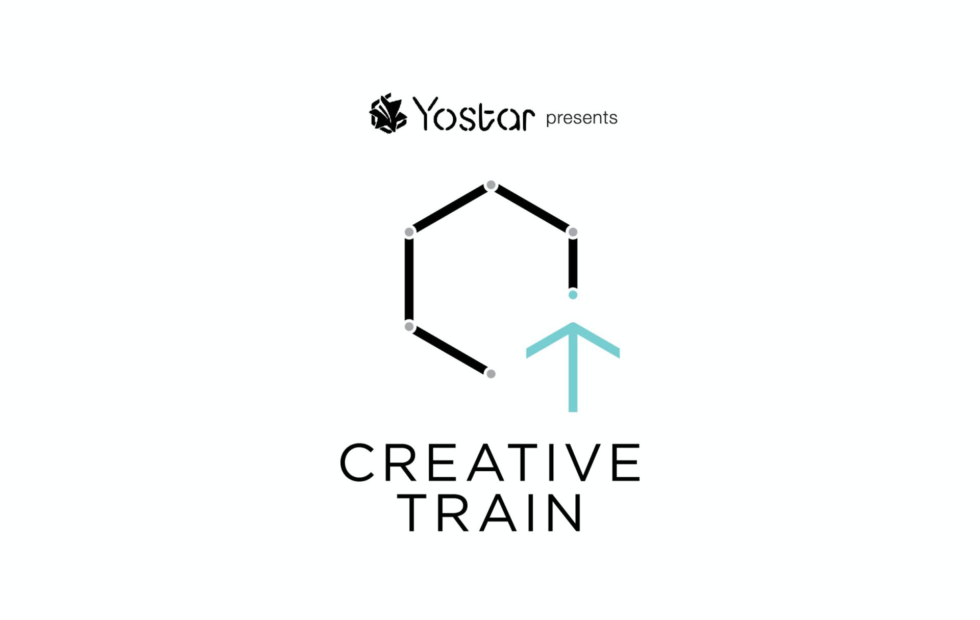 「CREATIVE TRAIN」Logo design